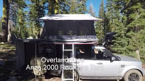 Awning Pros Overland Pros Anza 2000 Roof Top Tent U0026 Wraptor 2500 Awning Fly