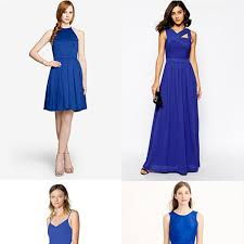 cobalt blue bridesmaid dresses cobalt blue bridesmaid dresses brides