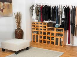 big closet ideas perfect shoe racks for closet plans with big