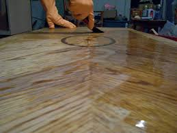 how to refinish veneer table how to refinish a coffee table and remove a bad water stain
