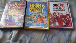 high school high dvd high school musical 1 3 uk dvd unboxing