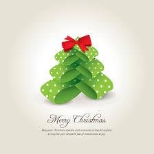 creative xmas tree christmas cards vector 04 vector card vector