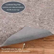Rug Pad For Laminate Floor Luxehold Nonslip Reversible Rug Pads For Hard Flooring Or Carpet