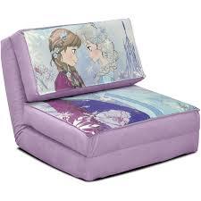 amazon com disney frozen anna and elsa flip chair tween sofa kids