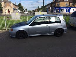 toyota starlet glanza v mot aug 2017 in craigentinny edinburgh