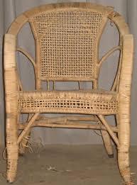 repairs to rattan furniture items