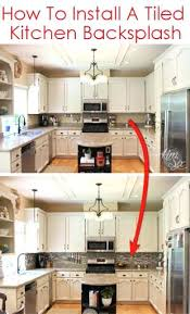 How To Install A Backsplash In A Kitchen Installing Backsplash Kitchen Progood Me