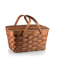 vintage picnic basket enjoy the outdoors with a vintage picnic basket