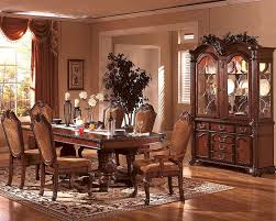 formal dining room sets for 8 grey leather chair cover