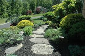 Backyard Walkway Ideas Outdoor And Patio Zigzag Brick Walkways Designs For Homes With