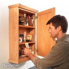 how to make storage cabinets simple storage cabinet diy family handyman