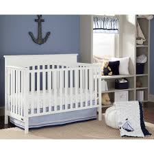 Crib White Convertible by Graco Lauren 4 In 1 Convertible Crib White Walmart Com
