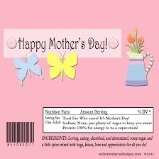 mother u0027s day candy bar wrappers business job description system