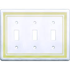 Travertine Switch Plates by Hampton Bay 3 Toggle Wall Plate Travertine Swp106 01 The Home Depot