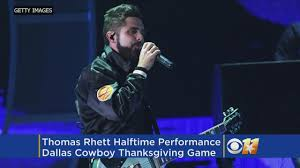 rhett to perform cowboys thanksgiving day halftime show