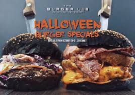 halloween burger burger king look how creatively spooky these burger joints are between the buns