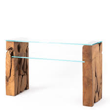 teak root dining table base glass console table with teak root base raft furniture london