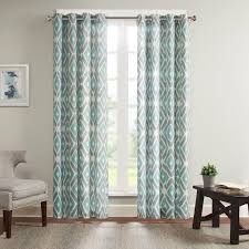 Single Window Curtain by Ashlin Diamond Printed Window Curtain Window Panels Window And