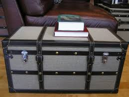 steamer trunk side table clear coffee table coffee table with stools shabby chic coffee table