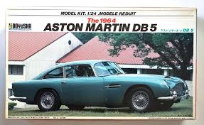 vintage aston martin db5 doyusha 1 24 aston martin db5 1964 very rare scale model kit ebay