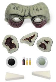 halloween prosthetic makeup kits graveyard zombie makeup kit mr costumes