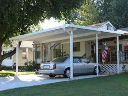 attached carport aluminum carport canopies
