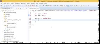 design html page in eclipse design studio 1 6 your first sdk extension write your own colored