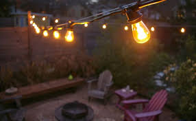 String Lighting For Patio The Grackle Garden New String Lights