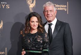 anthony bourdain opens up about his girlfriend asia argento