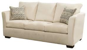 simmons upholstery elan coffee queen sleeper sofa transitional