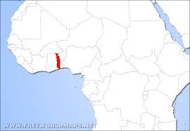 togo location on world map where is togo located on the world map