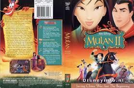 mulan ii 786936231403 disney dvd database