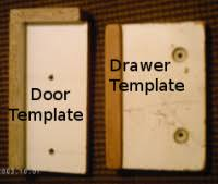 Cabinet Door Template Drilling Holes For Cabinet Handles Correctly