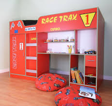 LIFESTYLE RACING CAR HIGH SLEEPER BED - Race car bunk bed