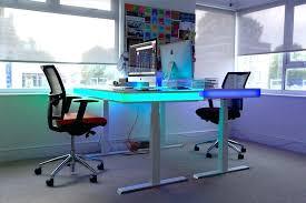 Led Reception Desk with Desk Lighting Ideas U2013 Contemplative Cat