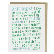 mothers day cards awkward s day card emily mcdowell studio