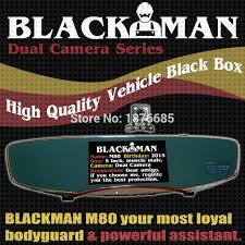 car dvr driving recorder vehicle black box rear view blue