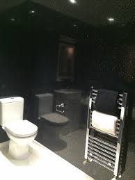 White Paneling For Bathroom Walls - dbs bathrooms black sparkle 8mm bathroom wall cladding