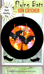Halloween Flying Bats Flying Bats Sun Catcher Craft U2013 The Pinterested Parent