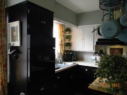 black and white kitchen cabinets just add molding and paint my
