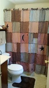 Country Shower Curtain Primitive Shower Curtain Free Shipping By Primandclutter On Etsy