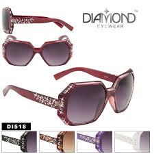bulk women u0027s rhinestone sunglasses diamond style di518