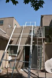 How To Frame A Patio Roof by This Patio Roof Sheds Water Allows Natural Light
