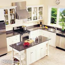 building kitchen cabinets how to install kitchen cabinets family handyman