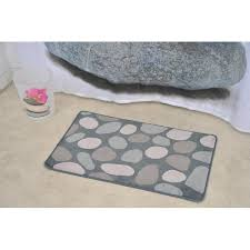 Non Skid Bath Rugs Evideco Spa Non Skid Print Bath Rug U0026 Reviews Wayfair Ca