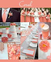Most Popular Colors 59 Best Coral Wedding Ideas Images On Pinterest Coral Wedding