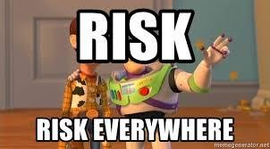 Buzz Everywhere Meme - risk risk everywhere woody buzz everywhere meme generator