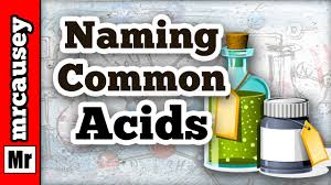 how to name common binary acids and oxyacids youtube