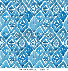 set ikat pattern di tasiania su shutterstock