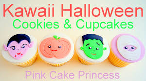 kawaii halloween cupcakes u0026 cookie pops how to by pink cake